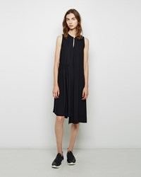 Maison Martin Margiela Chiffon Semi Pleat Dress
