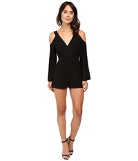 Keepsake In Motion Playsuit Black Women's Jumpsuit And Rompers One Piece