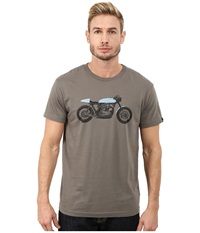 Deus Ex Machina Grigio Tee Leaf Men's T Shirt Brown