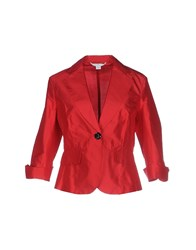 Marella Suits And Jackets Blazers Women Red