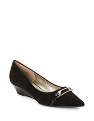 Bandolino Yorinna Point Toe Wedge Pumps Black