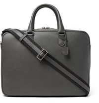 Valextra Soft Avietta Full Grain Leather Briefcase Anthracite