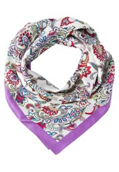 Banana Republic Farrah Scarf Pink Multi Multicoloured