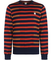Bench Stagger Crew Neck Jumper Total Eclipse