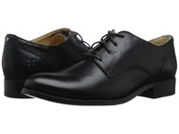 Frye Melissa Oxford Black Smooth Vintage Leather Women's Lace Up Casual Shoes
