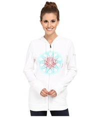 Columbia Flowery Daze Full Zip Hoodie White Women's Sweatshirt
