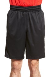 Men's Nike 'Elite Stripe' Basketball Shorts Black White White White
