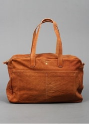 Ally Capellino 'Jimmy' Tan Leather Holdall Jimmy.