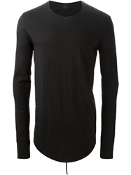 Lost And Found Banded Top Black
