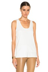 By Malene Birger Partias Tank Top In White