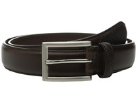 Stacy Adams Max 32Mm Lizard Embossed Keeper And Tail Brown Men's Belts