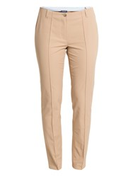 Basler Lea Skinny Trousers Brown