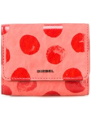 Diesel 'Adhele' Wallet Pink And Purple
