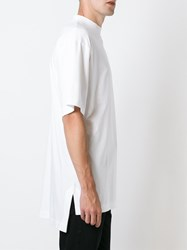 Etudes Studio Mock Neck T Shirt White
