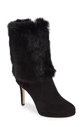 Michael Michael Kors Women's Faye Genuine Rabbit Fur Bootie