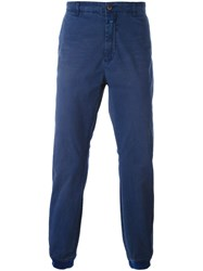 Closed Tapered Trousers Blue