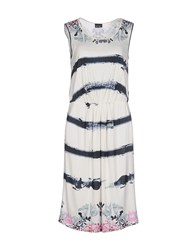 Pf Paola Frani Dresses Knee Length Dresses Women Ivory