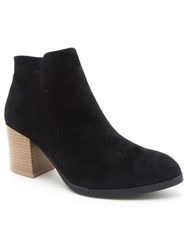 Qupid Wilson Ankle Boot Black