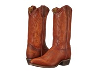 Frye Billy Pull On Cognac Washed Oiled Vintage Cowboy Boots Brown