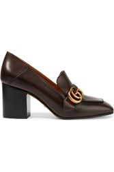 Gucci Leather Pumps Brown