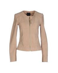 Hotel Particulier Coats And Jackets Jackets Women Beige