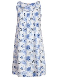 Cyberjammies Porcelain Doll Floral Chemise Blue Multi