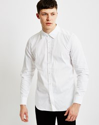 G Star G Star Landoh Clean Shirt Long Sleeve White