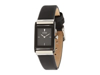 Citizen Ew9215 01E Eco Drive Stainless Steel Leather Strap Watch Black Black Dress Watches