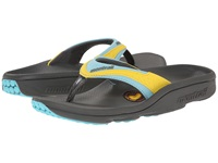 Montrail Molokini Ii Charcoal Clear Blue Women's Toe Open Shoes Yellow