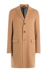 Jil Sander Virgin Wool Coat Camel