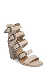 Dolce Vita Women's Layell Buckle Sandal Sand Leather