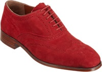 Duckie Brown Laceless Wing Red
