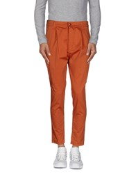 Minimal Trousers Casual Trousers Men Rust