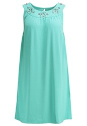 Junarose Jrbeline Cocktail Dress Party Dress Agate Green Turquoise