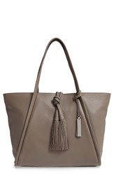 Vince Camuto Taro Leather Tote Grey Elepant