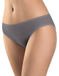 Hanro Seamless Cotton Panties Ebony
