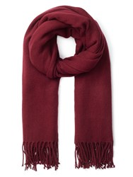 Precis Petite Olive Sparkle Cocoon Scarf Red