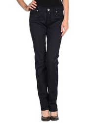 One Seven Two Casual Pants Dark Blue