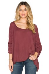 Saint Grace Omega Top Burgundy