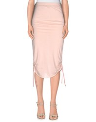 Brian Dales Skirts 3 4 Length Skirts Women Light Pink