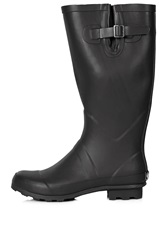 Topshop Jacobson Drizzle Wellies Black