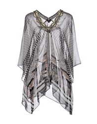 Hale Bob Shirts Blouses Women Dove Grey