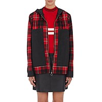 Tim Coppens Women's Mixed Media Jacket Red
