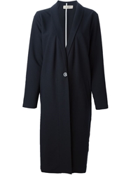 Libertine Libertine Long Overcoat Blue