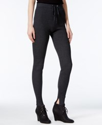 Rachel Roy Ribbed Leggings Only At Macy's Charcoal