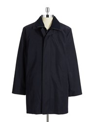 Lauren Ralph Lauren Double Layered Overcoat Navy