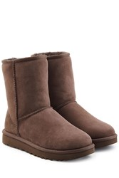 Ugg Australia Classic Short Suede Boots Brown