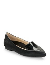 Kenneth Cole Gina Calf Hair Loafers Black