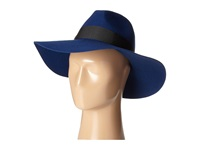 San Diego Hat Company Wfh7962 Floppy With Pinch Crown And Grosgrain Bow Trim Cobalt Caps Blue
