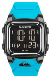 Men's Quiksilver 'The Grom' Silicone Strap Watch 43Mm
